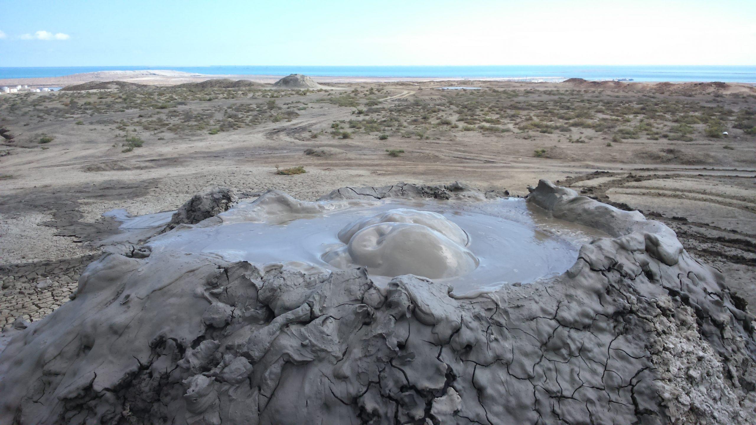 gobustan wulkany błotne azerbejdżan