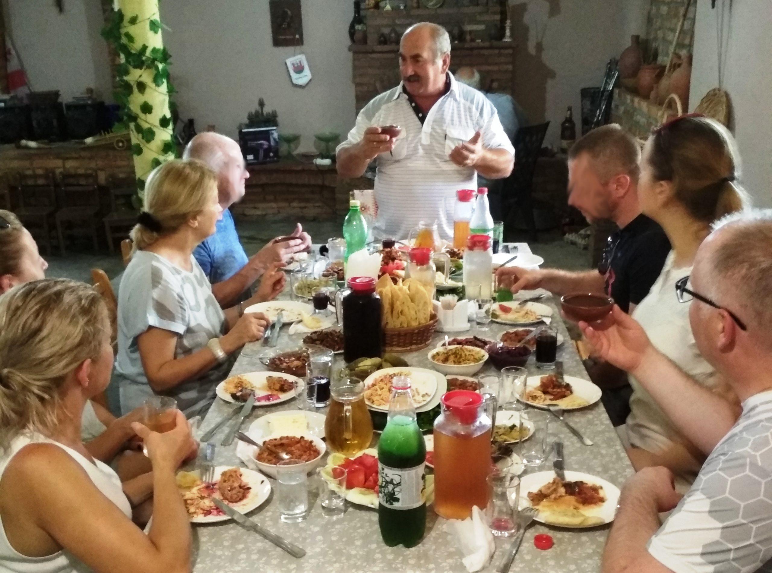 gruzińska gościnność supra